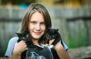 Dame-aux-chats